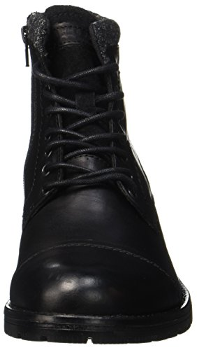 JACK & JONES Herren Jfwmarly Leather Stiefel, Schwarz - 3