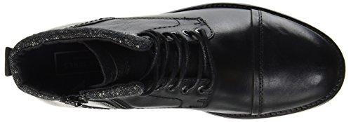 JACK & JONES Herren Jfwmarly Leather Stiefel, Schwarz - 7