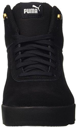 Puma Unisex-Erwachsene Desierto Sneaker Schneestiefel, Schwarz Black 02, 43 EU - 2