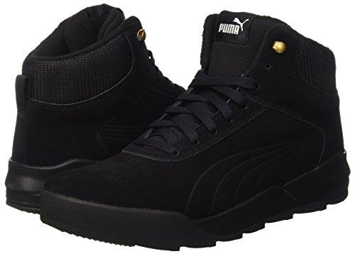 Puma Unisex-Erwachsene Desierto Sneaker Schneestiefel, Schwarz Black 02, 43 EU - 4