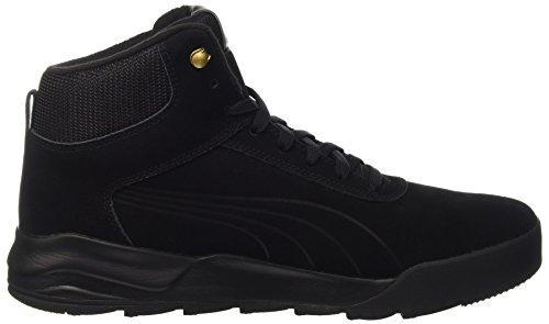Puma Unisex-Erwachsene Desierto Sneaker Schneestiefel, Schwarz Black 02, 43 EU - 6