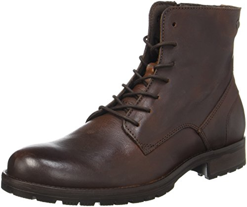 JACK & JONES Jfworca Leather Brown Stone Stiefel