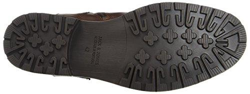 JACK & JONES Jfworca Leather Brown Stone Stiefel - 3