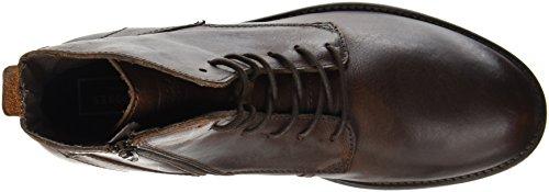 JACK & JONES Jfworca Leather Brown Stone Stiefel - 5