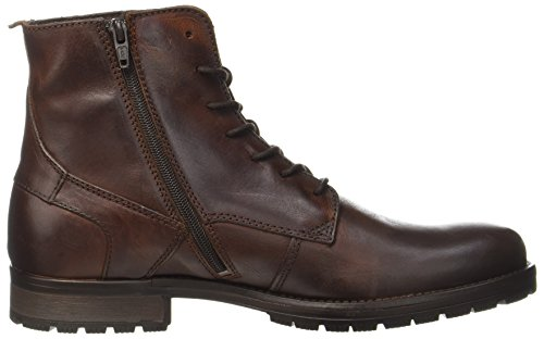 JACK & JONES Jfworca Leather Brown Stone Stiefel - 6