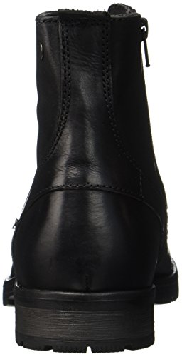JACK & JONES Herren Jfworca Leather Stiefel, Schwarz - 4