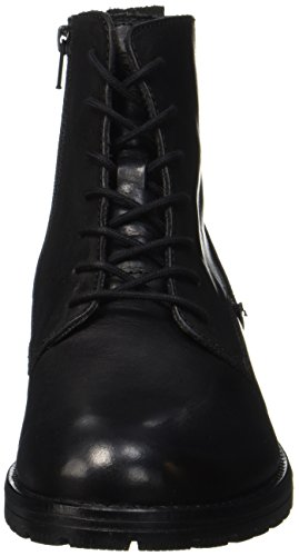 JACK & JONES Herren Jfworca Leather Stiefel, Schwarz - 5