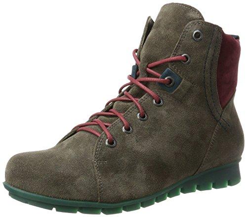 Think! Damen Menscha_181078 Desert Boots, Grau