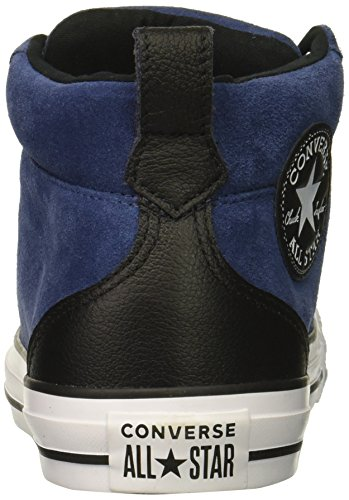 Converse Unisex-Erwachsene CTAS Street Mid Fitnessschuhe, Mehrfarbig (Mason Blue/Black/White 478), 42 EU - 3