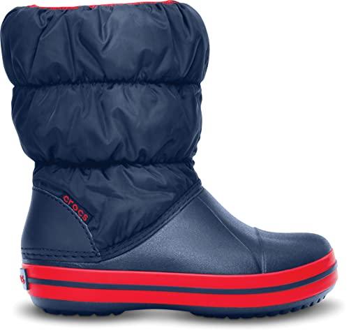 Crocs Winter Puff Boot Kids, Schneestiefel, Blau - 6