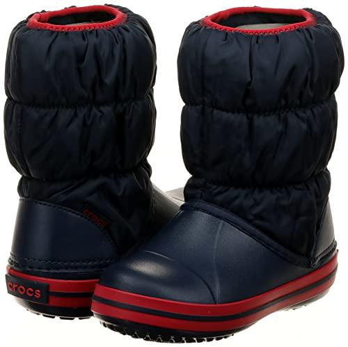 Crocs Winter Puff Boot Kids, Schneestiefel, Blau - 7