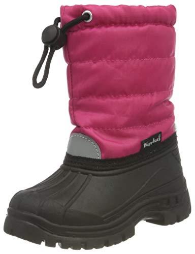 Playshoes Winterstiefel für Kinder mit Warmfutter, Pink