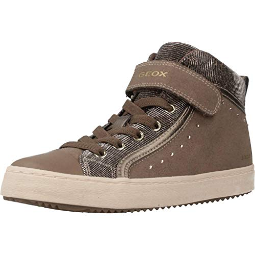 Geox Mädchen J Kalispera Girl I Hohe Sneaker
