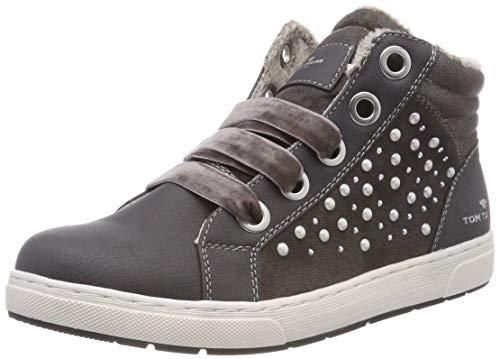 TOM TAILOR Hohe Sneaker für Mädchen, Grau