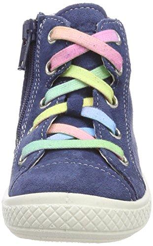 Superfit Mädchen Tensy Hohe Sneaker, Blau - 4