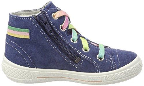Superfit Mädchen Tensy Hohe Sneaker, Blau - 7