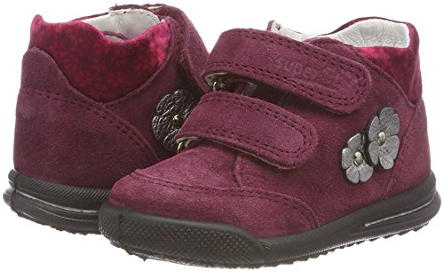 Superfit Baby Mädchen Avrile Mini Sneaker, Rot (Rot 50), 26 EU - 3