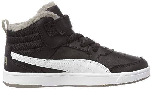 Puma Rebound Street V2 FUR V PS Hohe Sneaker - 5