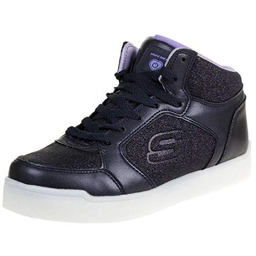 Skechers Mädchen Energy Lights Hohe Sneaker, Blau