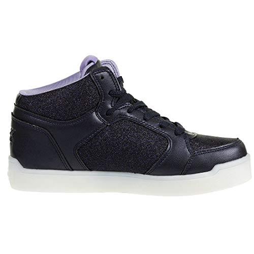 Skechers Mädchen Energy Lights: E-pro Glitter Glow Hohe Sneaker, Blau (Navy NVY), 33 EU - 5