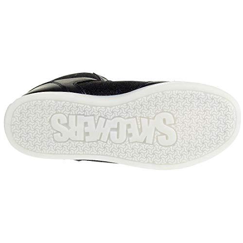 Skechers Mädchen Energy Lights: E-pro Glitter Glow Hohe Sneaker, Blau (Navy NVY), 33 EU - 7