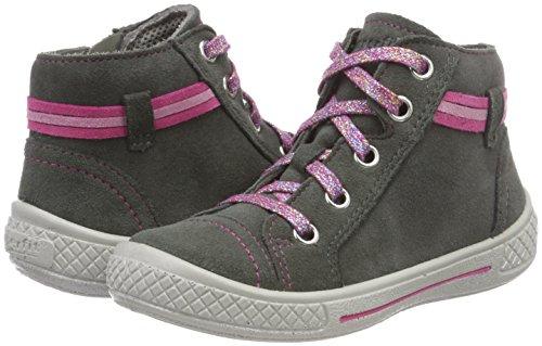 Superfit Mädchen Tensy Hohe Sneaker, Grau (Grau 20), 32 EU - 2