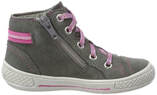 Superfit Mädchen Tensy Hohe Sneaker, Grau (Grau 20), 32 EU - 5
