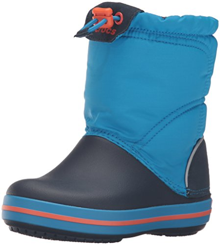 Crocs Crocband LodgePoint Boot Kids, Schneestiefel, Blau