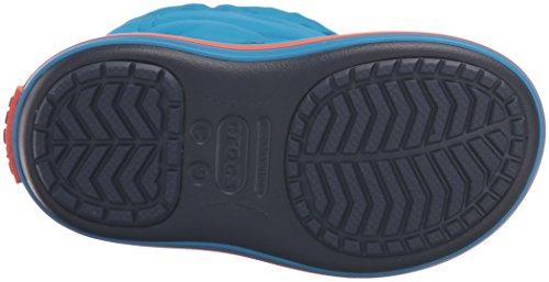 Crocs Crocband LodgePoint Boot Kids, Schneestiefel, Blau - 5