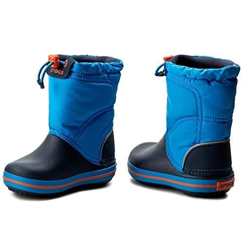 Crocs Crocband LodgePoint Boot Kids, Schneestiefel, Blau - 4
