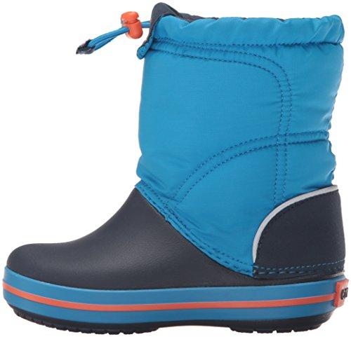 Crocs Crocband LodgePoint Boot Kids, Schneestiefel, Blau - 7