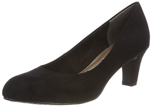 Tamaris Damen Pumps, Schwarz