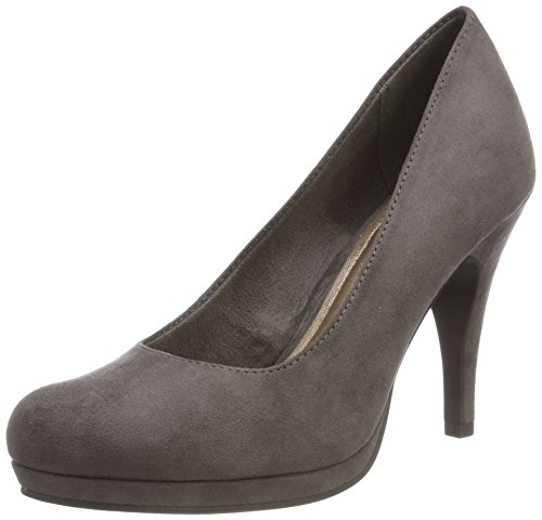 Tamaris Damen Pumps, Grau