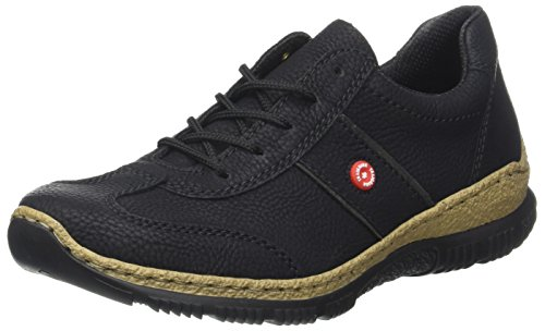 Rieker Damen Sneaker, (schwarz/fumo)