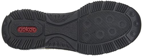 Rieker Damen N3220 Sneaker, (schwarz/fumo), 42 EU - 6