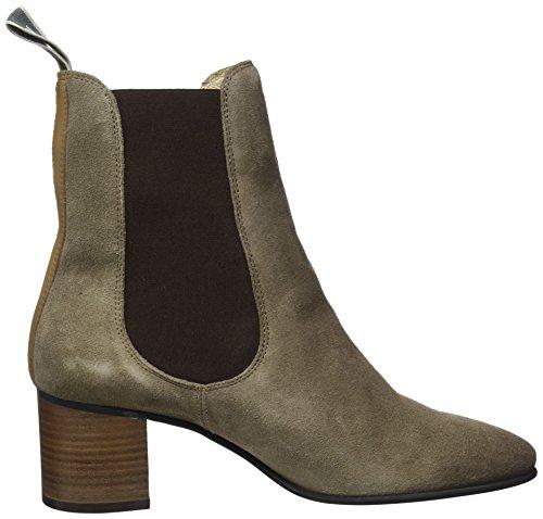 Marc O'Polo Damen Mid Heel Chelsea Boots, Braun - 6