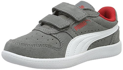Puma Kinder ICRA Trainer SD V PS Low-Top, Grau