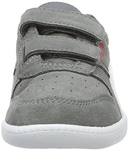 Puma Unisex-Kinder ICRA Trainer SD V PS Low-Top, Grau (Steel Gray White 14), 31 EU - 4