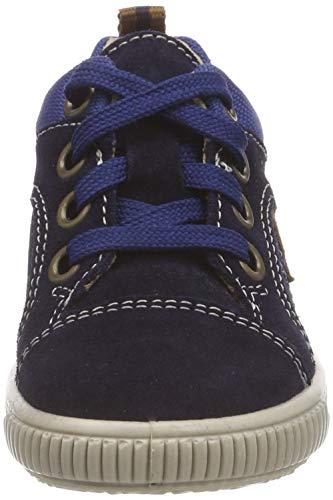 Superfit Baby Jungen Moppy Sneaker, Blau (Blau/Blau 80), 24 EU - 2