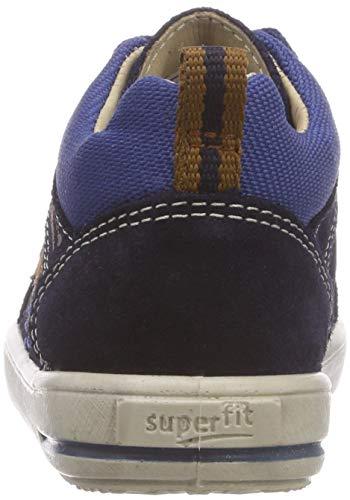 Superfit Baby Jungen Moppy Sneaker, Blau (Blau/Blau 80), 24 EU - 4