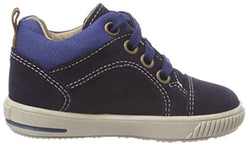 Superfit Baby Jungen Moppy Sneaker, Blau (Blau/Blau 80), 24 EU - 5