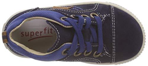 Superfit Baby Jungen Moppy Sneaker, Blau (Blau/Blau 80), 24 EU - 6