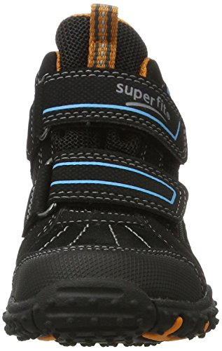 Superfit Jungen SPORT4 Hohe Sneaker, (Schwarz Multi), 32 EU - 2