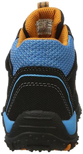 Superfit Jungen SPORT4 Hohe Sneaker, (Schwarz Multi), 32 EU - 3