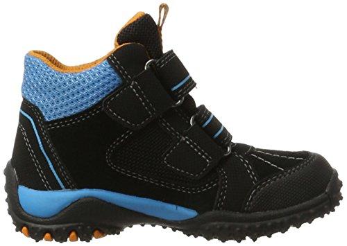 Superfit Jungen SPORT4 Hohe Sneaker, (Schwarz Multi), 32 EU - 6