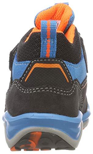 Superfit Jungen SPORT5 Hohe Sneaker, (Grau/Orange 20), 34 EU - 5