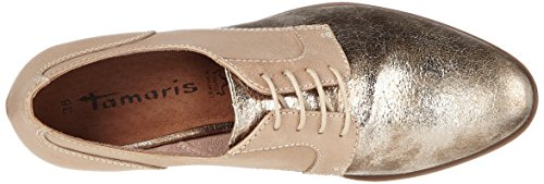 Tamaris Damen 23213 Oxford, Beige (Shell Comb 424), 41 EU - 5