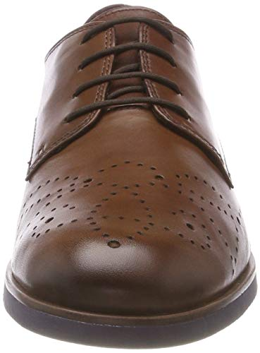 Tamaris Damen 23208-31 Oxfords, Braun - 2