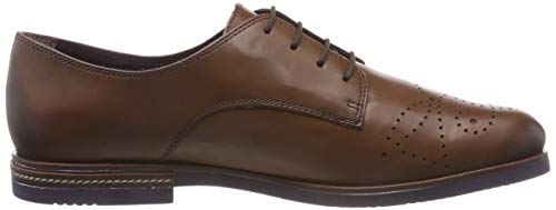 Tamaris Damen 23208-31 Oxfords, Braun - 6