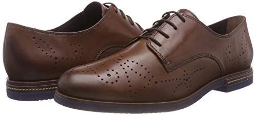 Tamaris Damen 23208-31 Oxfords, Braun - 7